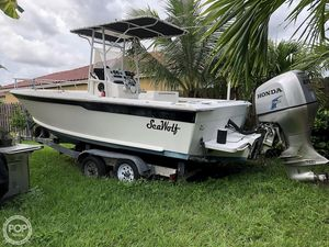 Used Sea Wolf 22 Center Console Fishing Boat For Sale