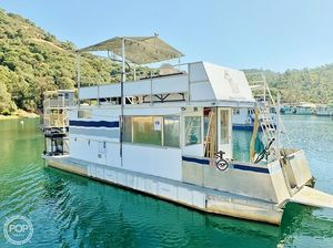 Used Patio Cruisers 12 x 32 House Boat For Sale