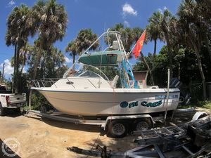 Used Sunbird 230 Neptune Walkaround Fishing Boat For Sale
