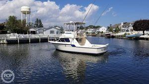 Used Hatteras 32 Flybridge Fisherman Sports Fishing Boat For Sale