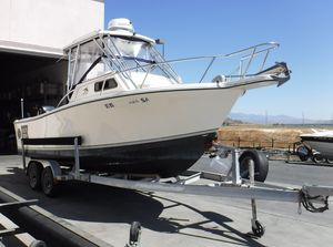 Used Kencraft 23 wacc23 wacc Saltwater Fishing Boat For Sale