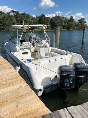 Used Boston Whaler Conquest 260 Walkaround Fishing Boat For Sale