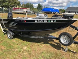 Used Alumacraft Escape 145TEscape 145T Freshwater Fishing Boat For Sale