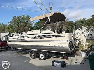 Used Crestliner LSI Angler 2485 Pontoon Boat For Sale