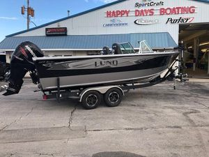 Used Lund 2275 Baron2275 Baron Freshwater Fishing Boat For Sale