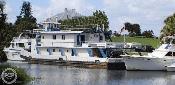 Used Calmes Push Tug 85 Trawler Boat For Sale