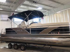 Used Aqua Patio 240240 Pontoon Boat For Sale