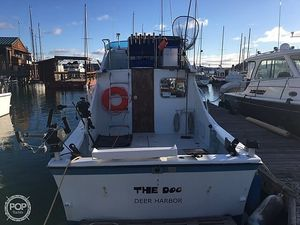 Used Uniflite 28 Sportfish Convertible Sports Fishing Boat For Sale