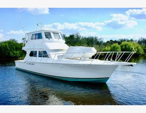 Used Ricker Custom Sportfish Convertible Fishing Boat For Sale
