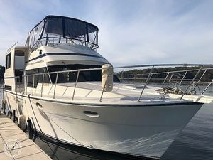 Used Hyatt 40 Sundeck Aft Cabin Boat For Sale