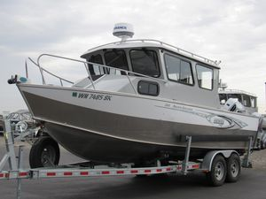 Used Hewescraft 240 Pacific Explorer240 Pacific Explorer Aluminum Fishing Boat For Sale