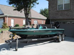 Used Fisher FX-21 Bass Boat For Sale