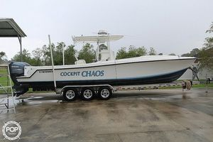 Used Contender 31 Cuddy Cabin Center Console Fishing Boat For Sale
