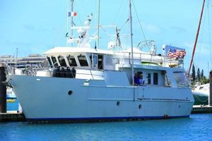 Used Cape Horn 55 Trawler Boat For Sale