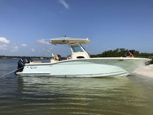 Used Scout 275 XSF275 XSF Center Console Fishing Boat For Sale