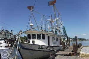 Used Custom Built 48 Commercial Boat For Sale