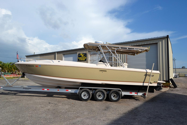 Used Intrepid 322 Cuddy Cabin Boat For Sale