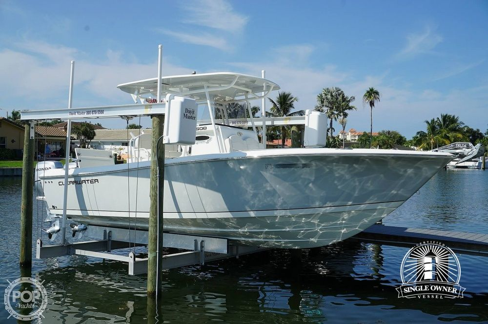 2018 Used Clearwater 2508 Cc Center Console Fishing Boat For