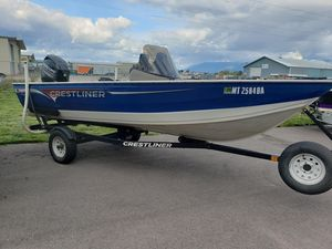 Used Crestliner Kodiak 16 SCKodiak 16 SC Aluminum Fishing Boat For Sale