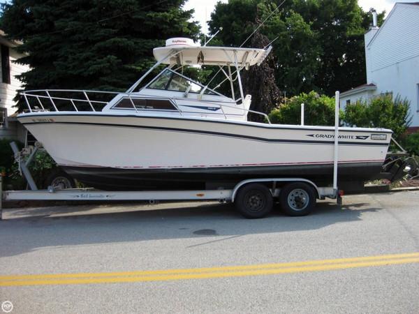 Used Grady-White 25 Sailfish Walkaround Fishing Boat For Sale