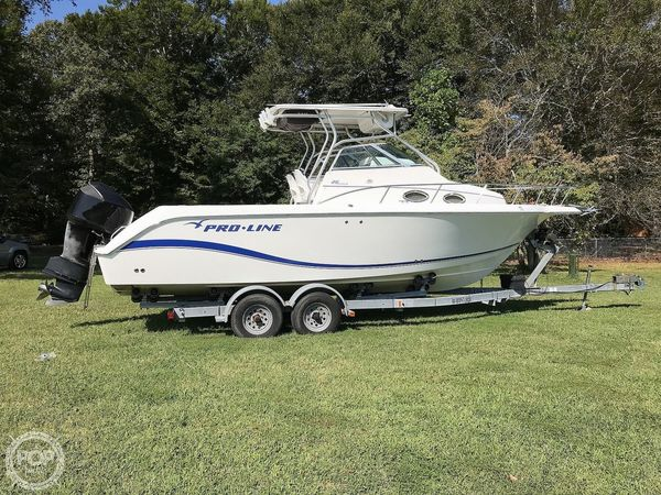 Used Pro-Line 26 Walkaround Fishing Boat For Sale