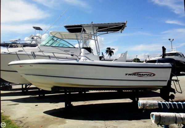 Used Triumph 210 Center Console Center Console Fishing Boat For Sale