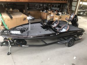 New Triton Boats 189 TrX Bass Boat For Sale