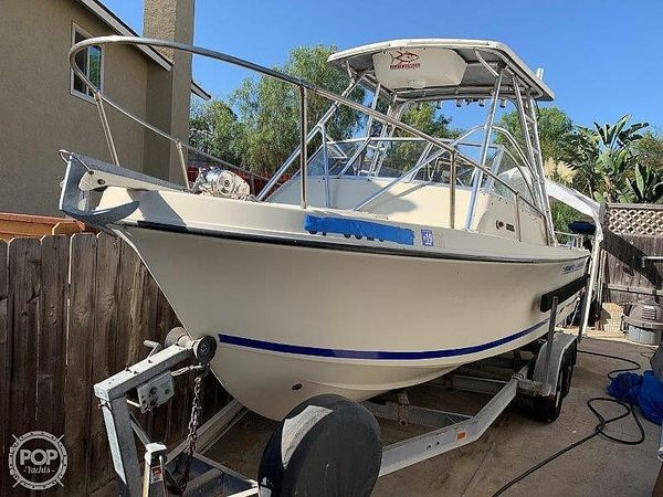 Used Skipjack 24 Open Walkaround Fishing Boat For Sale