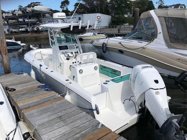 Used Blue Fin Profish 250 Center Console Fishing Boat For Sale