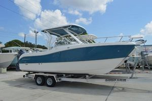 New World Cat 255 DC255 DC Sports Fishing Boat For Sale