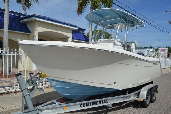 New Cobia 220 CC220 CC Center Console Fishing Boat For Sale