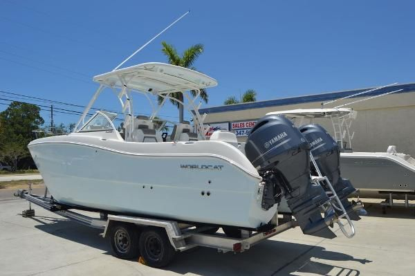 New World Cat 255 DC255 DC Dual Console Boat For Sale