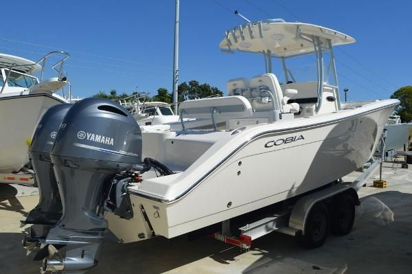 New Cobia 277 CC277 CC Center Console Fishing Boat For Sale