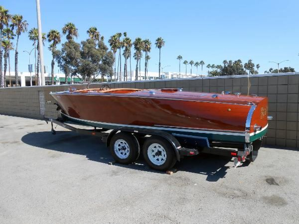 Used Custom Runabout Boat For Sale