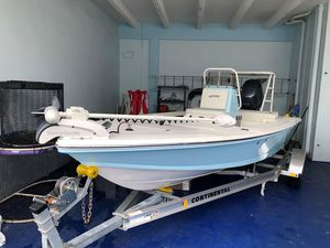 Used Hewes 18 Redfisher18 Redfisher Flats Fishing Boat For Sale