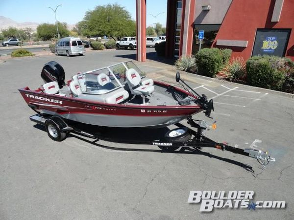 Used Tracker Pro Guide V-175 ComboPro Guide V-175 Combo Freshwater Fishing Boat For Sale