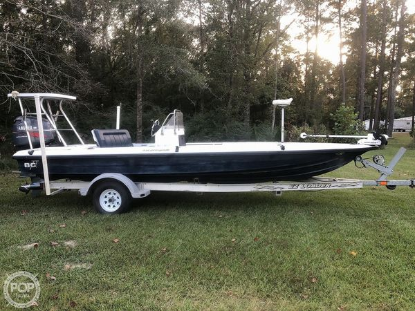 Used Back Country 202 Pro Guide Flats Fishing Boat For Sale