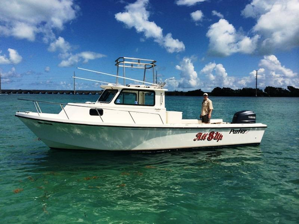1996 Used Parker 2520 Xld Sport Cabin Saltwater Fishing