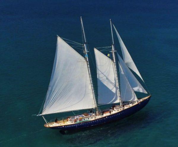 Used Custom Grand Banks Schooner Sailboat For Sale