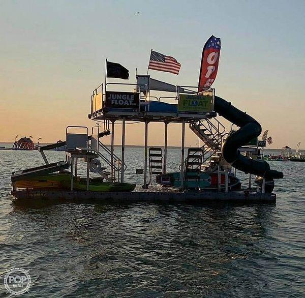 Used Jungle Float 34 Jungle Float Barge Boat For Sale