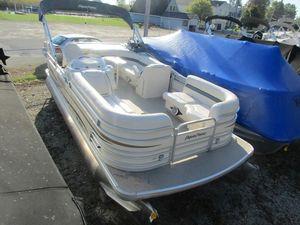 Used Aqua Patio 200 RE200 RE Pontoon Boat For Sale