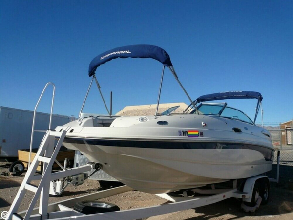 Used Chaparral Sunesta 236 DB Deck Boat For Sale