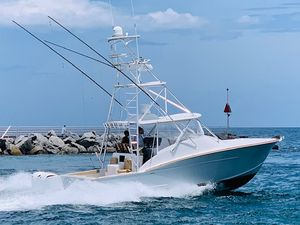 Used Xcelerator Boatworks 35 Custom Carolina Express Center Console Fishing Boat For Sale