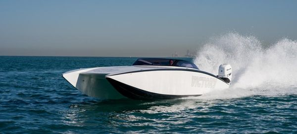 New Victory Boats 34 VTX Cat High Performance Boat For Sale