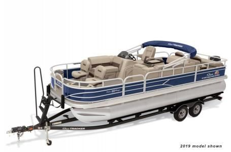 New Sun Tracker Signature Fishing Barge 22 w/115ELPT 4S CTSignature Fishing Barge 22 w/115ELPT 4S CT Pontoon Boat For Sale