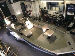 New Alumacraft MV1860 AW SC Jon Boat For Sale
