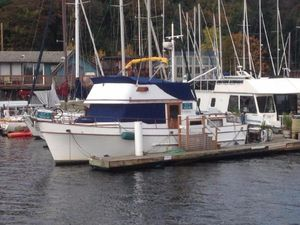 Used Classic Puget Trawler 37 Trawler Boat For Sale
