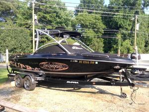 Used Supra 22ssv Bowrider Boat For Sale