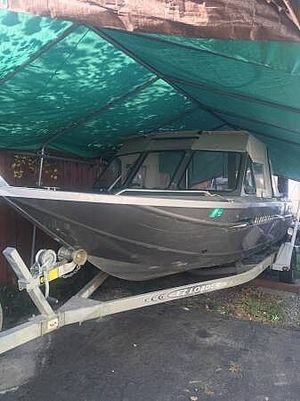 Used Harbercraft 19 Aluminum Fishing Boat For Sale