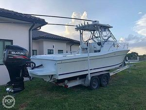 Used Sportcraft 251 Walkaround Fishing Boat For Sale